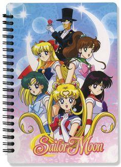 Sailor Moon Girls Group Notebook
