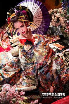 A modern take of an oiran at a photography experience.