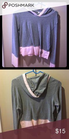 T-shirt light hoodie New condition, light weight, Victoria's Secret Tops Tees - Long Sleeve