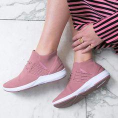 Ecco Sneakers Webshop ECCO Sneak Retro Tie Dame Bordeaux