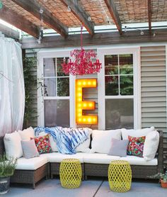 Copy Cat Chic Room Redo | Breezy Back Patio - | Copy Cat Chic | chic for cheap