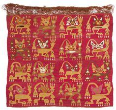 Peruvian Textile 1150 - 1450 CE