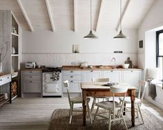 rustic modern kitchen decor inspiration. / sfgirlbybay