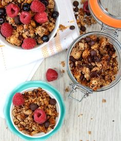 Crunchy, grain free granola - the perfect start to your day!