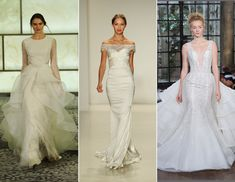 Romona Keveza Fall 2015 collection: A Wedding Dress Collection Inspired by Audrey Hepburn
