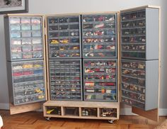 Anton Galkin - Lego Storage Chest  Even though he uses this for Legos, it would be perfect for storing art supplies.