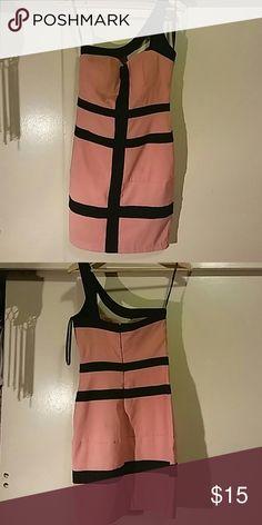XOXO One Shoulder Dress Beautiful dress by XOXO. It has slightly padded cups. Size: 3/4. XOXO Dresses One Shoulder