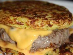 Hamburger aux pommes de terre - Recette Ptitchef