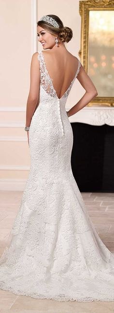 Wedding Dress by Stella York Spring 2016 - Belle The Magazine