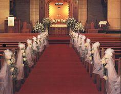 Znalezione obrazy dla zapytania przybranie kościoła na ślub