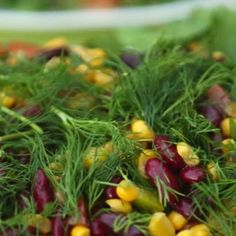 Meksika Fasulyeli Salata Tarifi - Bayram Sofrası