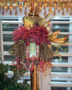 Baby Bird Decorative Tassel