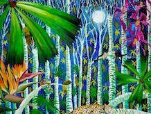 Peacocks of India - Kate Morgan - Artist