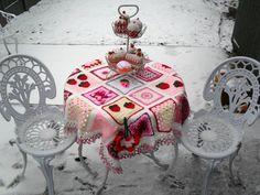Идеи из квадратов/цветное вязание. Обсуждение на LiveInternet - Российский Сервис Онлайн-Дневников
