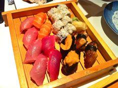 sushi selections. inaba japanese restaurant. torrance.