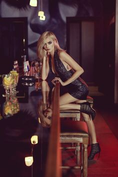 Cara Delevingne stars in Jimmy Choo's newest campaign. See the stunning images and learn her must-haves for holiday dressing here. Checkout divafashion.ch for more!