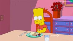 New party member! Tags: reaction the simpsons simpsons eating bart simpson bart marge simpson marge season 27 paths of glory