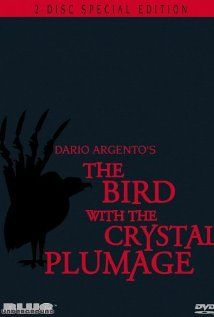 The Bird with the Crystal Plumage (1970). A writer is stalked by a serial killer after witnessing a murder attempt on one woman's life.