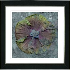 Mudflower by Zhee Singer Framed Fine Art Giclee Painting Print
