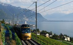 Europe's most beautiful train ride takes in some of Swizerland's famous alpine peaks, including The Matterhorn, Titlis and Eiger, Mönch and Jungfrau. Train Tour, By Train, Switzerland Tour, Largest Waterfall, Austria Travel, Lake Geneva, Train Rides, World Heritage Sites, The Guardian