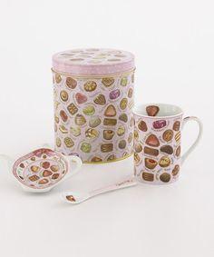 Chocolate Mug Set #zulily