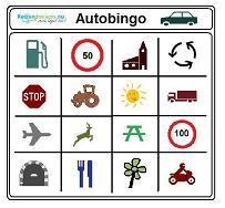 AUTOBINGO! print je eigen kaarten voor onderweg!