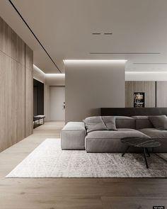 Apartment Interior, Apartment Design, Home Living Room, Interior Design Living Room, Living Room Designs, Living Room Decor, Interior Modern, Home Room Design, Luxury Living