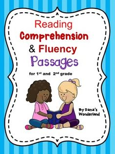 Free Reading Comprehension and Fluency Passages