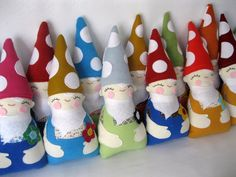 What a jolly looking group! What is the proper name for a gathering of gnomes anyway?