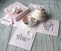 Gifts for lovers handmade.- Gifts for lovers handmade. Buy Box magic box with cake. Magic Box, Diy Gift Box, Diy Box, Exploding Gift Box, Gift Wraping, Printable Box, Pop Up Box Cards, How To Make Box, Fancy Fold Cards
