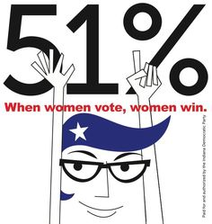 Headlines will read: Women Rocked the Vote in Record Numbers!!