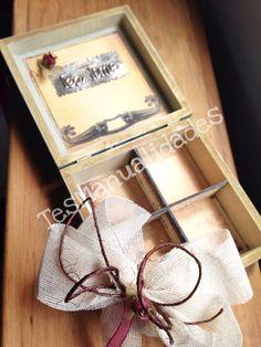 Caja de Té. Tea box by Tes Manualidades in FB