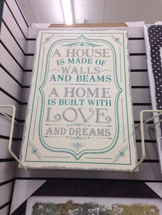 Quote for a house warming card