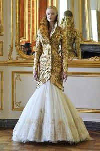vintage McQueen dress