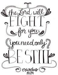 My very favorite quote in the Bible since I first discovered it when I was 11 years old.  It comforts me when I'm stressed about situations I cannot control.