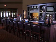 Perfect place for an after golf drink. Covered Bridges, Perfect Place, Golf Clubs, Liquor Cabinet, Champion, Bar, Drink, Places, Design