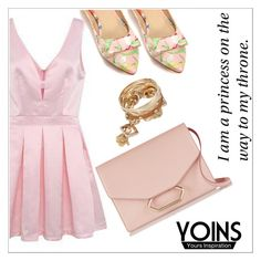 """Yoins.... In pink"" by simona-altobelli ❤ liked on Polyvore featuring мода, Victoria Beckham и yoins"