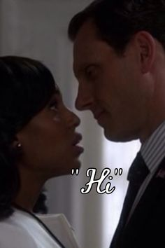 Olitz~~~ Tony Goldwyn and Kerry W.... on Scandal~ so romantic!