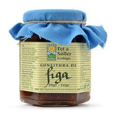 Confitura de figa - Fet a Sóller - Loveat!© - #We_Loveat - Elaborada por Asanideso, ONG local que trabaja para la inserción de minusválidos psíquicos. Salsa, Jar, Projects, Food, Organic Farming, Figs, Store, Food Items, Waiting Staff