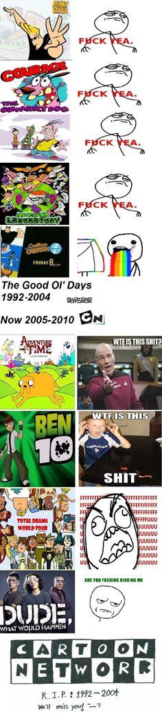 I use to love cartoon network!