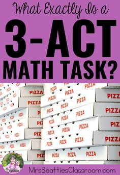 Math Tasks are some of the most powerful learning experiences I've used in my middle school classroom. Learn about the research behind these effective teaching practices, and grab some incredible ready-to-go lessons for every grade level, primary to Middle School Classroom, Math Classroom, High School, Future Classroom, Classroom Organization, Act Math, Math Talk, Math I, Math Enrichment