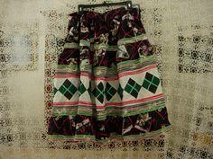 Seminole Patchwork Ladies Skirt by AtticFanaticUS on Etsy