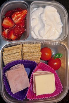 Cool blog. She post pictures of her daughters lunch that she has packed every day. Great ideas