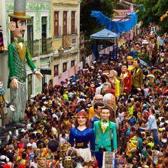 Os melhores e mais irreverentes blocos de Carnaval de Olinda