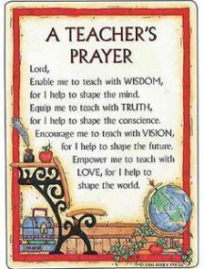 Discover and share Preschool Teacher Quotes Inspirational. Teacher Prayer, School Prayer, Teacher Devotions, Teacher Poems, Teaching Quotes, Education Quotes, Teaching Ideas, Texas Education, Teaching Manners
