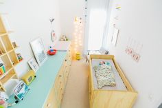 Quarto de bebê | verde água + amarelo | Vestida de Mãe | Fernanda Floret | Blog sobre Bebês e Mamães