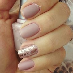 Nude nails. Nail Art, Nail Design. Polish. Polishes. Polished. Instagram by @lucinhabarteli | See more nail designs at http://www.nailsss.com/nail-styles-2014/2/