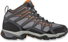 99602865612 Oboz Men s Scapegoat Mid Vent Hiking Shoes Charcoal 14