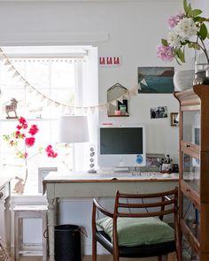 cute office space.