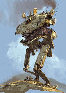 Concept Art by Ian McGue, [Droids]